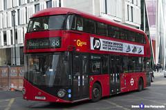 Wrightbus NRM NBFL - LTZ 1054 - LT54 - Oxford Circus 88 - Go Ahead London - London 2017 - Steven Gray - IMG_9528