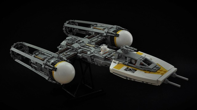 BTL-A4 Y-wing, by Inthert, on Flickr
