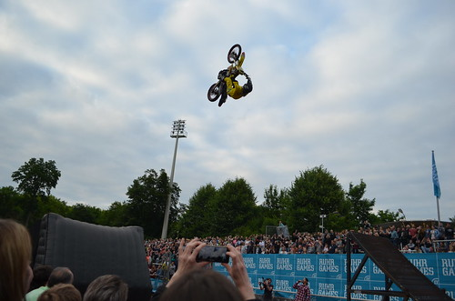 Freestyle Motocross at the Ruhr Games