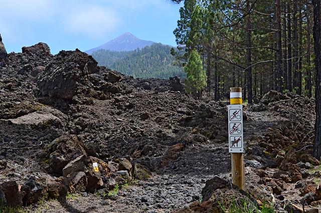 Chinyero route, Tenerife