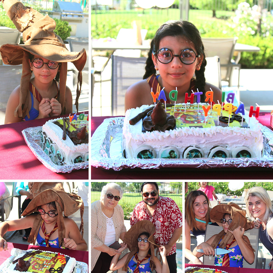 Harry-Potter-Birthday-Pool-Party-cake