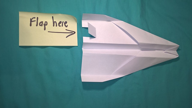 Paper planes activity from chapter 3 of Messy Church Does Science