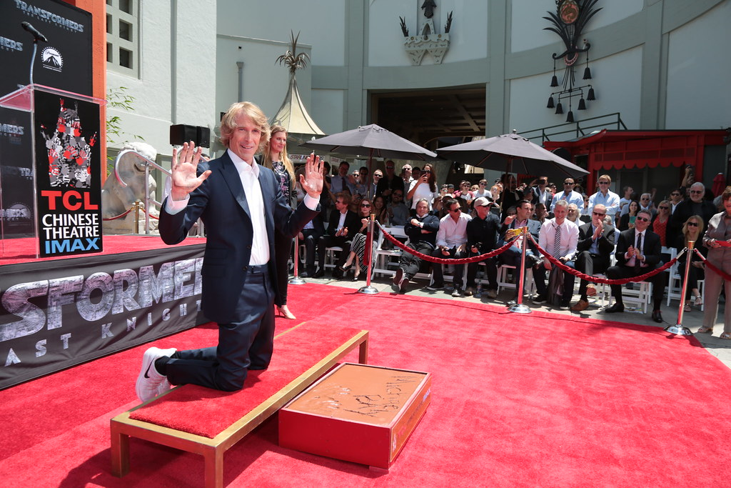 Michael Bay Hand and Footprint Ceremony