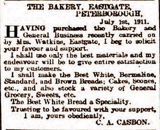 CA Casbon Bakery Add 1911