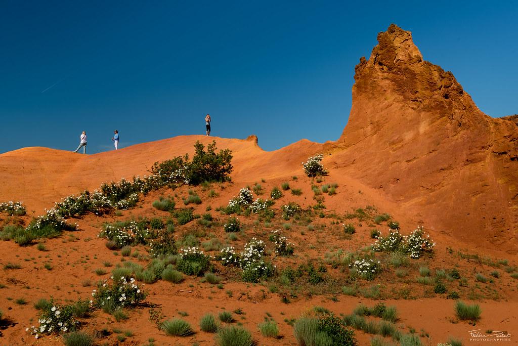 Dunes d'ocre