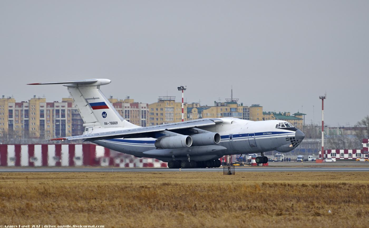 IL-76 Take off