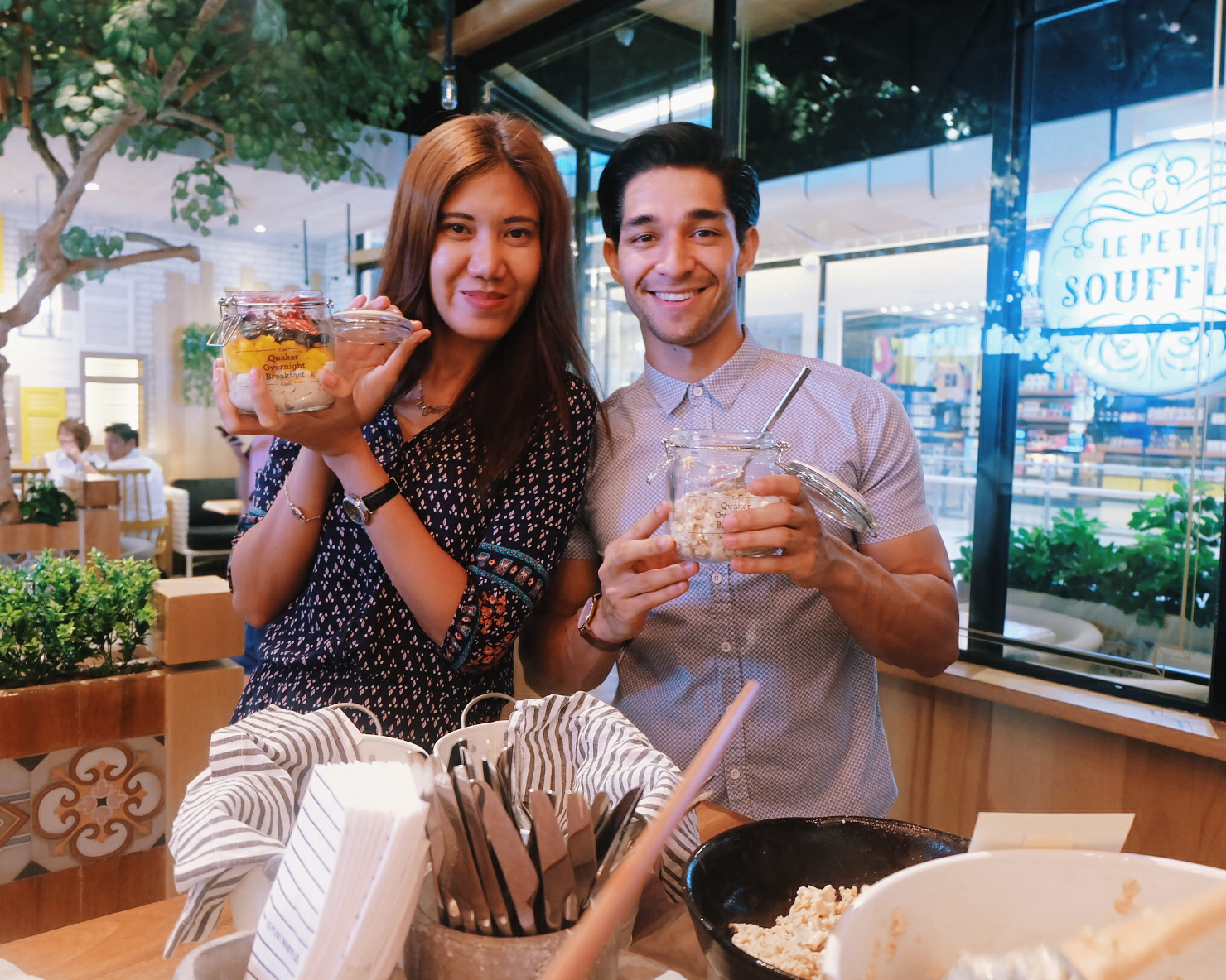Quaker Oats Overnight Breakfast Club wil dasovich