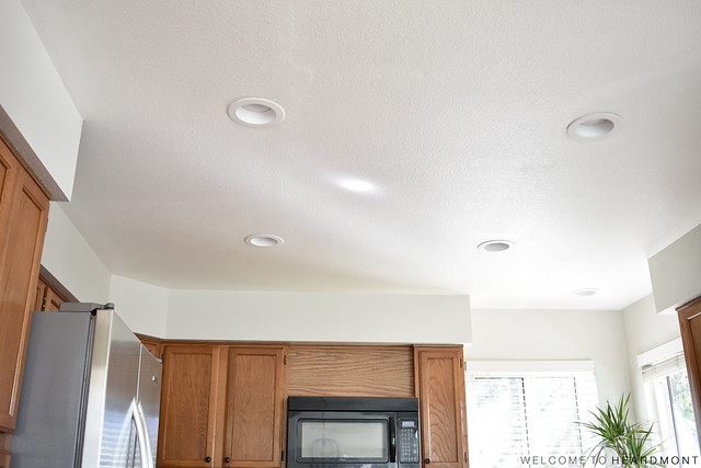 Kitchen Ceiling After | Welcome to Heardmont