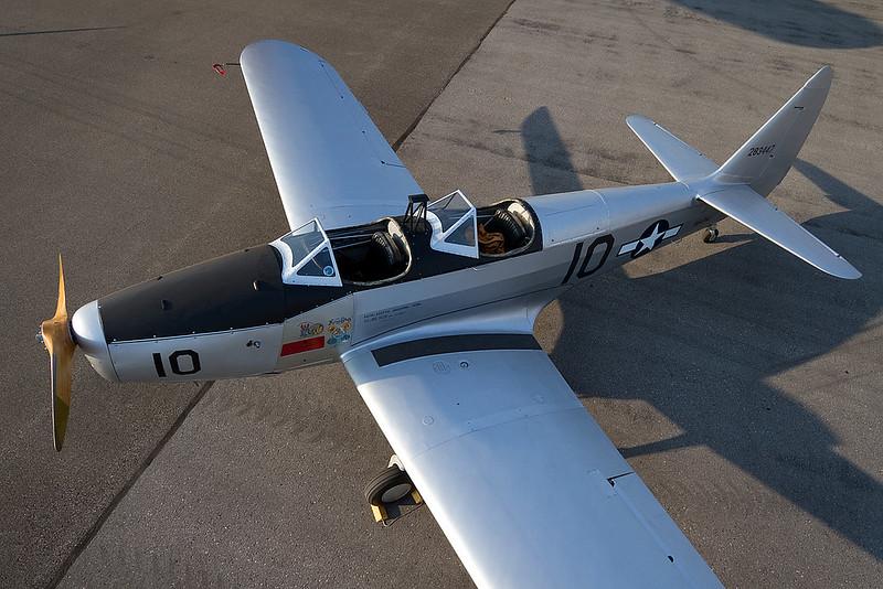 1943 Fairchild PT-19 #10 N54734