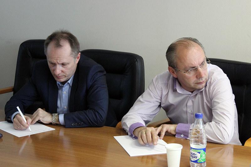 Владимир Дворянов (МАП), Александр Скороходов (Медиа Дистрибьюшен)