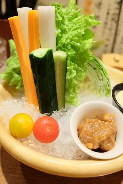 千葉県横芝光町直送の新鮮野菜の盛り合わせ