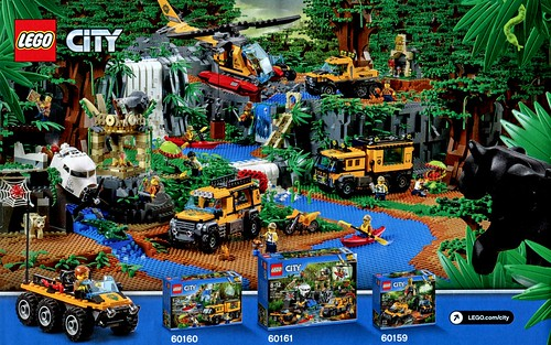 LEGO City 60157 Jungle Starter Set box08