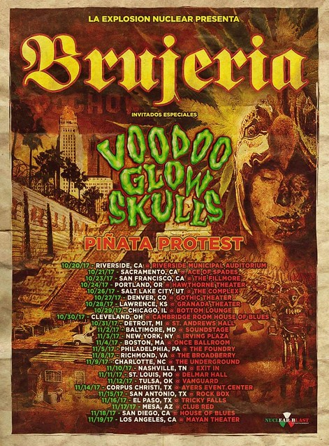 Brujeria at Baltimore Soundstage