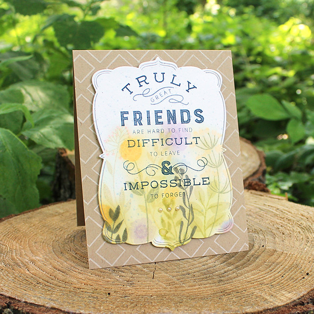 Truly Great Friends Card