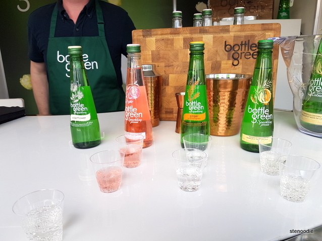 Sparkling juices from Bottle Green