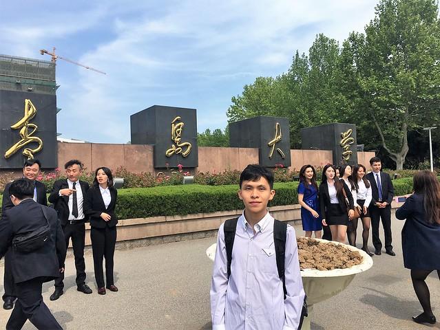 在中國山東青島大學學術交流 (17)