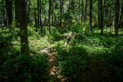 Old Stone Cemetery at Landsford Canal-046