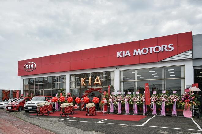 1.KIA台中沙鹿新車展示暨服務中心盛大開幕,拓展森那美起亞於台經營版圖
