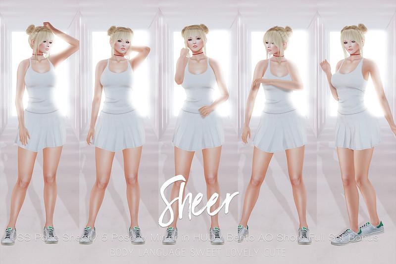 SS POSE Sheer