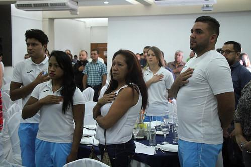 Reconocimiento a medallistas de III Juegos Bolivarianos Iquique 2016