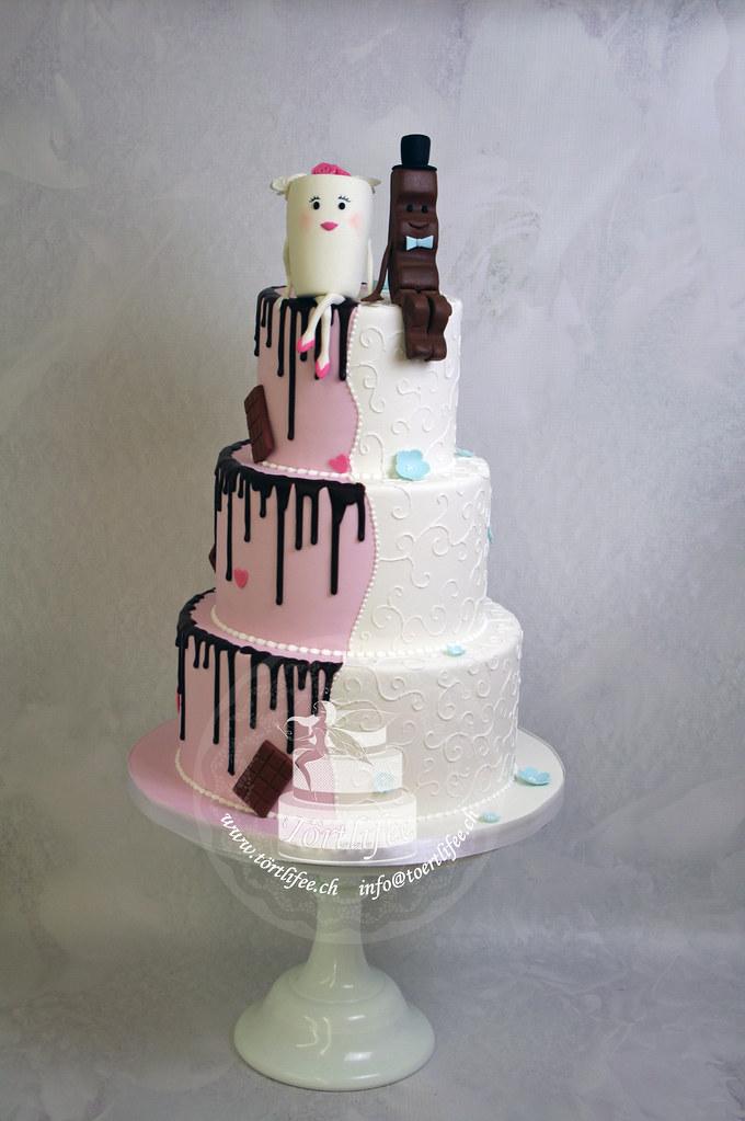 Kinderriegel Hochzeitstorte Tortlifee Eliane Rohr Flickr