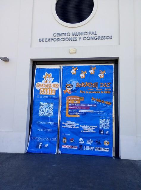El #ScratchDay para la provincia de Cádiz el 20 de mayo 2017. Una jornada de aprendizaje, diversión y encuentro para todas las edades en el Palacio de Exposiciones y Congresos de #Sanlúcar