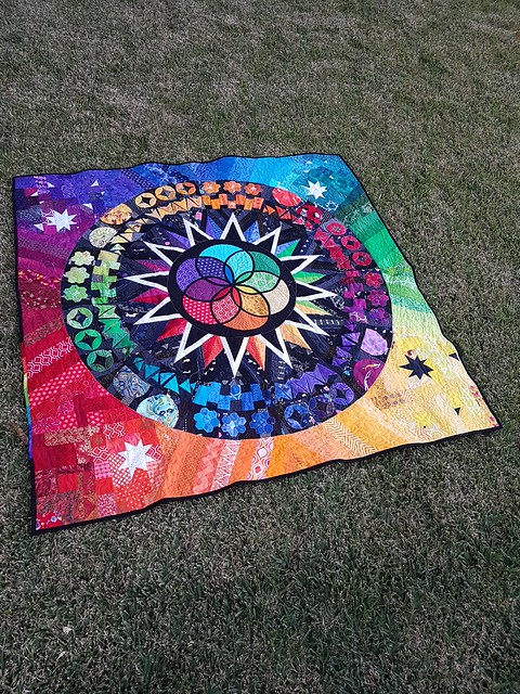 #ducttapegalaxyquilt