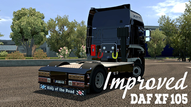 Improved DAF XF 105 by AlexeyP [1 6][Mod is closed] - SCS