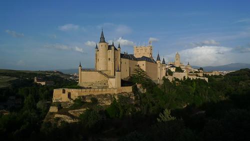 Alcázar and Cathedral - Segovia, Spain