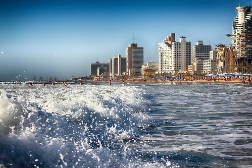 And then there's always the beach... from 5 Tel Aviv Landmarks and the History Behind Them