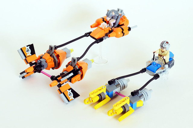 Podracer Microfighters