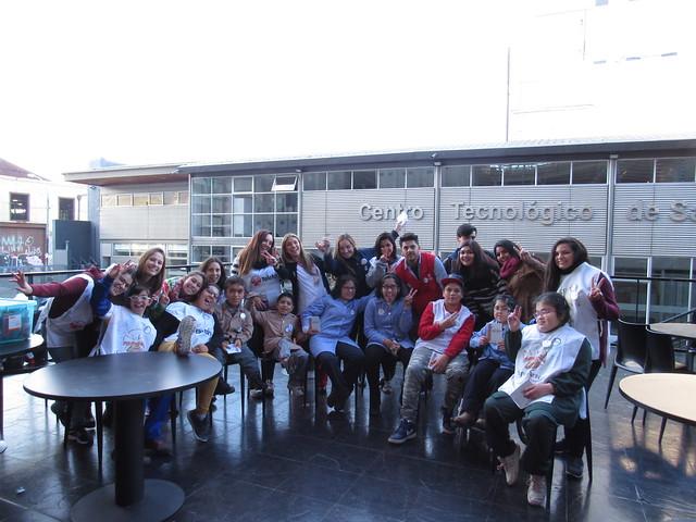 Teletón Valparaíso participa en semana de la inclusión Duoc-UC