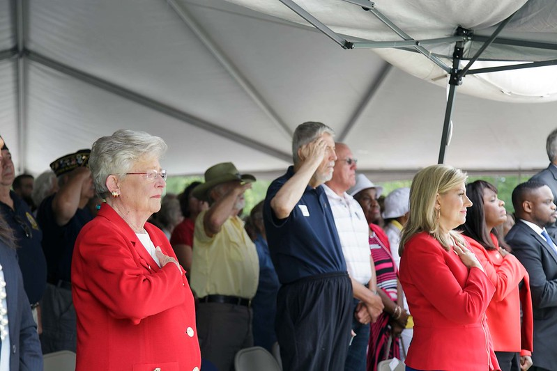 Governor Ivey attends Annual Memorial Day Program