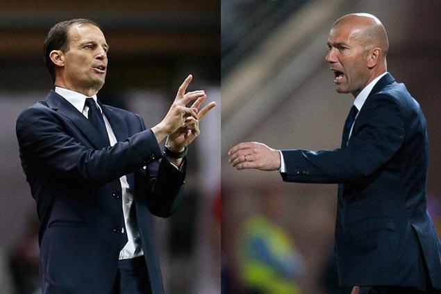 Massimiliano-Allegri-Zinedine-Zidane