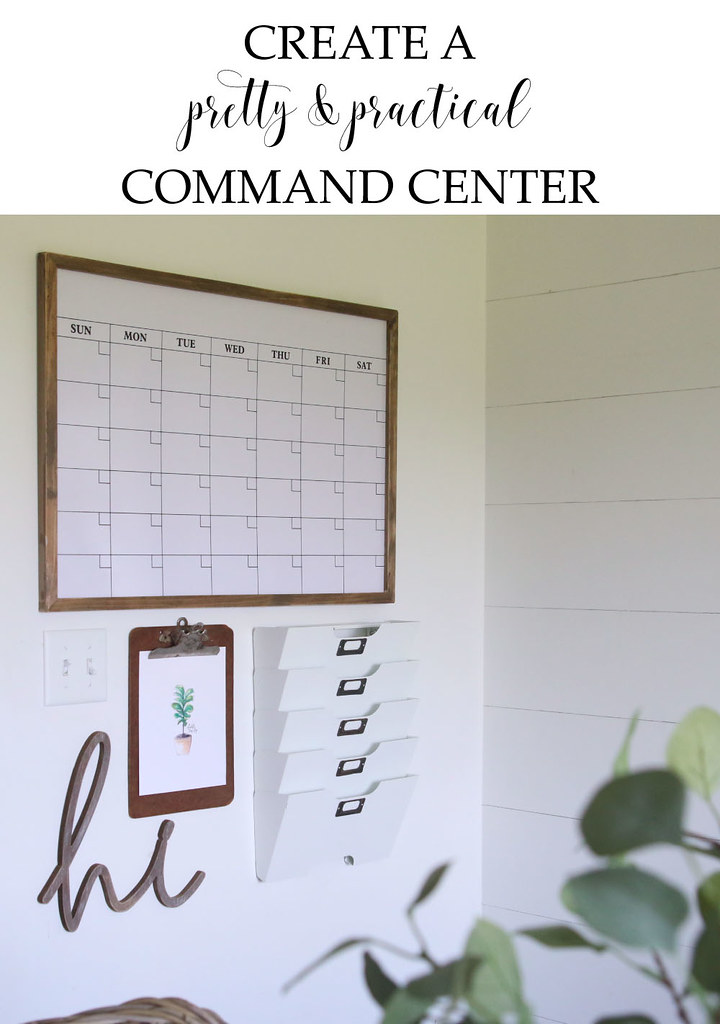 How To Create A Pretty Practical Command Center
