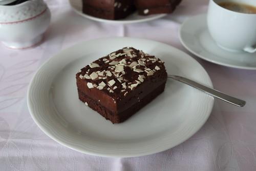 Schokoladentorte zum Nachmittagskaffee