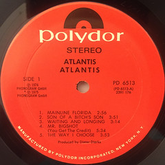 ATLANTIS:ATLANTIS(LABEL SIDE-A)
