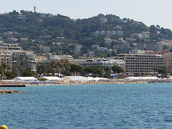 les plages du festival