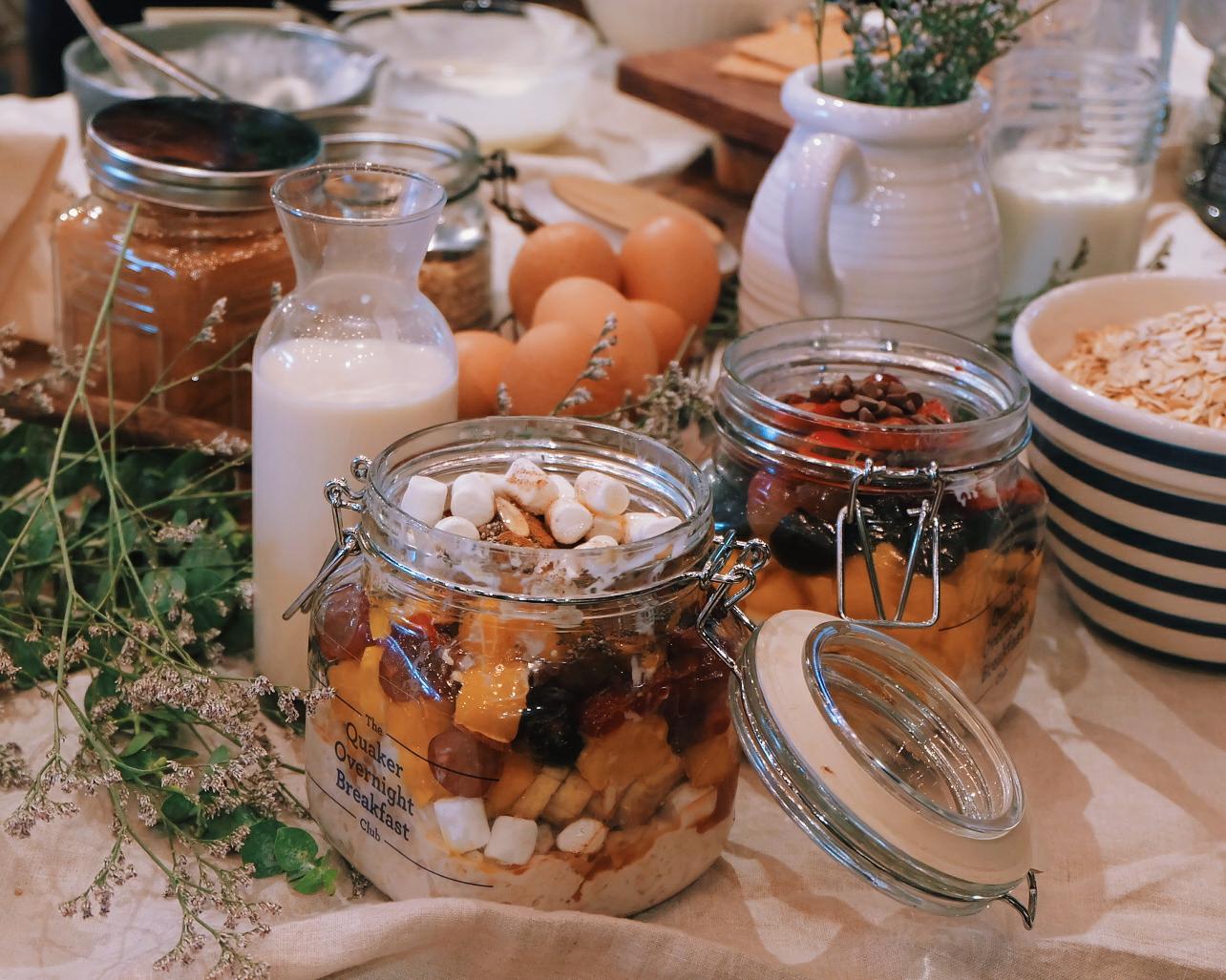 Quaker Oats Overnight Breakfast Club