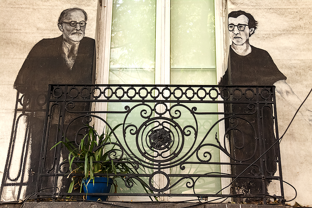 Freud and Woody Allen--Mexico City