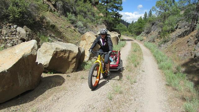 Bikepacking the Bizz Johnson Trail