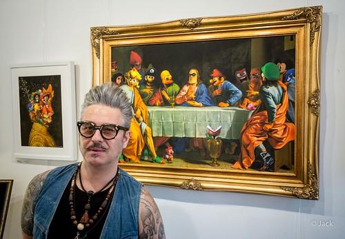 the artist - Nicolas Obéry