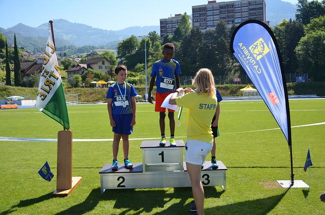 Championnats vaudois simples 2017 u12/u14 - podiums