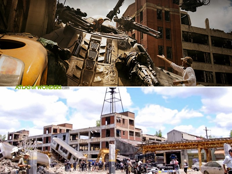 Transformers filming locations