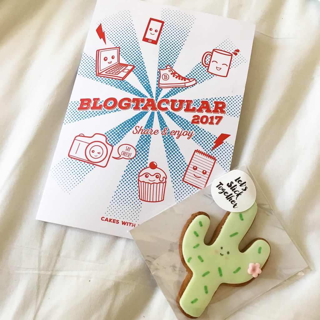 Blogtacular 2017 - notes and cookie