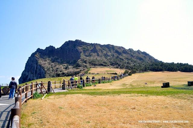 UNESCO World Heritage- Seongsan Ilchulbong Peak Jeju Island