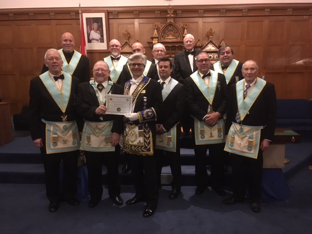 2017 05 18 Fraternal Visit to St. John's Lodge No. 40