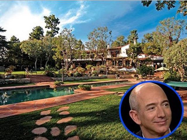 Căn nhà của Bezos tại Hollywood.