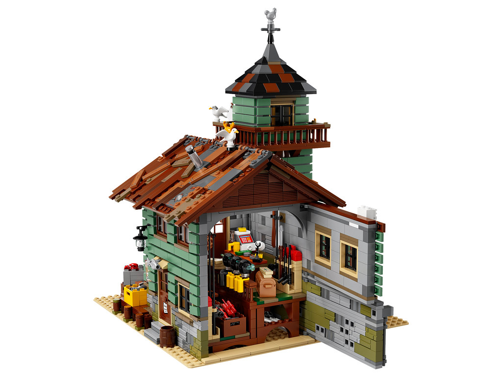 Lego ideas 21310 old fishing store release 9 1 2017 for Lego ideas old fishing store