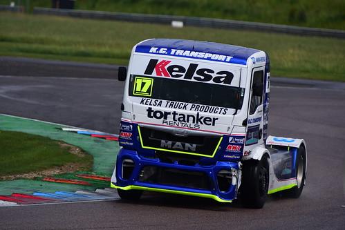 Shane Brereton, MAN TGX 12000, British Truck Racing Championship, Thruxton 2017